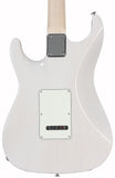 Suhr Throwback Standard Pro Guitar, Trans White, Rosewood