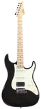 Suhr Throwback Standard Pro Guitar, Trans Black, Maple