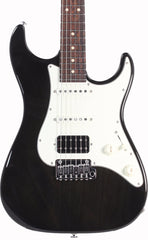Suhr Throwback Standard Pro Guitar, Trans Black, Rosewood