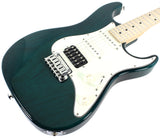 Suhr Standard Pro S Guitar, Trans Teal, Maple
