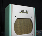 Swart AST Pro Combo Amp, Custom Two-Tone Surf Green, White