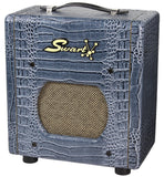 Swart Space Tone Atomic Jr, Charcoal Blue Croc
