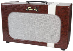 Swart Mod 84 Combo Amp - Brown Gator/ Ivory Ostrich