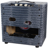 Swart STR-Tweed Amp - Charcoal Blue Croc