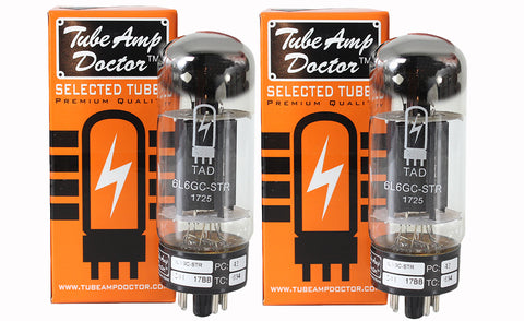 TAD Tube Amp Doctor 6L6GC-STR, Matched Pair, Premium Selected