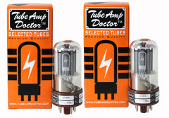 TAD Tube Amp Doctor 6V6GT-STR, Matched Pair