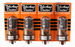 TAD Tube Amp Doctor 6V6GT-STR, Matched Quartet