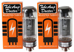 TAD Tube Amp Doctor EL34B-STR, Matched Pair, Premium Selected