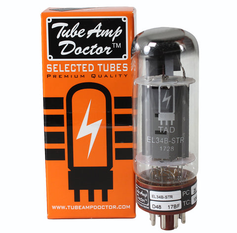 TAD Tube Amp Doctor EL34B-STR, Single, Premium Selected