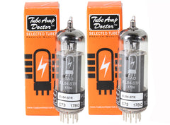 TAD Tube Amp Doctor EL84-STR, Matched Pair, Premium Selected