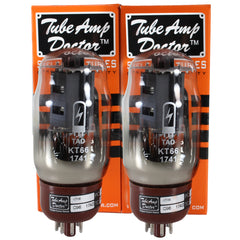 TAD Tube Amp Doctor KT66, Matched Pair, Premium Selected