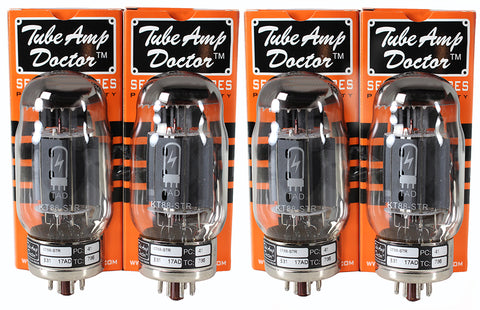 TAD Tube Amp Doctor KT-88, Matched Quartet, Premium Selected