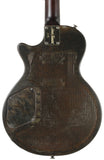 Trussart SteelDeville Guitar in Dark Rust-O-Matic