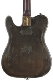 Trussart Deluxe Steelcaster Guitar - Rust On Cream Gator