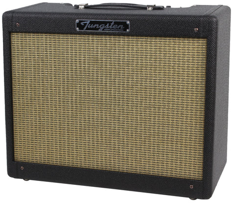 Tungsten Cortez 1x12 Combo Amp - Black Lacquered Tweed