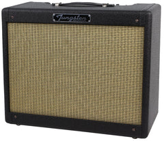 Tungsten Crema Wheat Amp - Black Lacquered Tweed