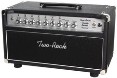 Two-Rock Classic Reverb Signature 50 Tube Rectified Head, Black, Silverface