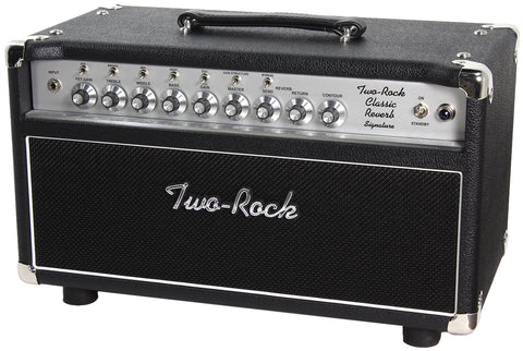 Two-Rock Classic Reverb Signature 100/50 Head - Black - Silverface