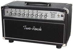 Two-Rock Classic Reverb Signature 100/50 Head, Black, Silverface