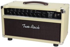 Two-Rock Classic Reverb Signature 50 Tube Rectified Head, Blonde, Blackface