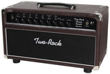 Two-Rock Classic Reverb Signature 50 Tube Rectified Head, Brown Ostrich, Blackface