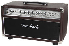 Two-Rock TS1 Tone Secret 100/50 Watt Head, Ostrich, Silverface