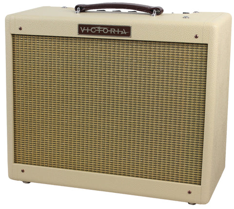 Victoria Amps 20112 Amplifier, Blonde, Half Power Switch