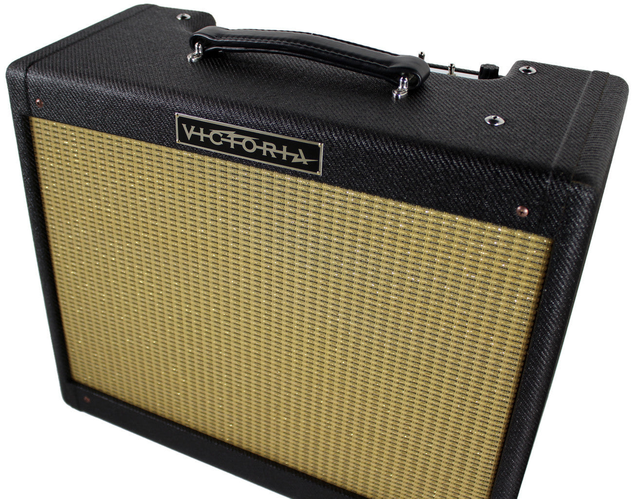 Fender Tweed Amp >> Victoria Amps 20112 Amplifier Black Tweed