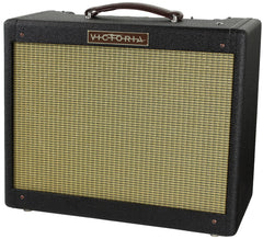 Victoria Amps Vicky Verb Jr. 1x12 Combo, Black Lacquered Tweed