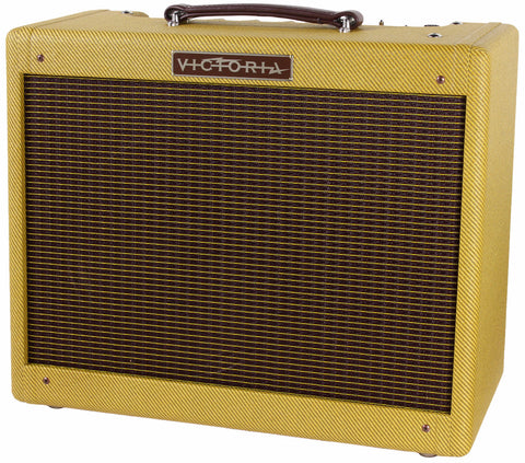 Victoria Amps Vicky Vibe Jr. 1x12 Combo Amp - Tweed