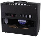 Victoria Amps Club Deluxe Amplifier, Custom Black Lacquered Tweed