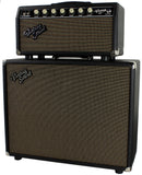 Vintage Sound Vintage 15 Head & 1x12 Cab, Black, Tan