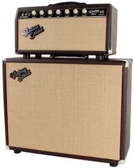 Vintage Sound Vintage 35sc Head & 1x12 Cab - Brown Ostrich