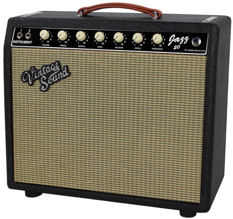Vintage Sound Jazz 20 1x12 Combo Amp - Black Tweed