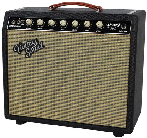 Vintage Sound Vintage 35sc Combo, Black Tweed