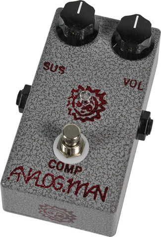 Analog Man 2 Knob Small Comprossor Pedal - Humbucker Music