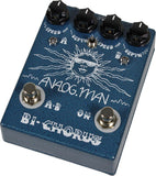 Analog Man Bi-Chorus Pedal w/ Depth Toggle & Top Jacks - Humbucker Music