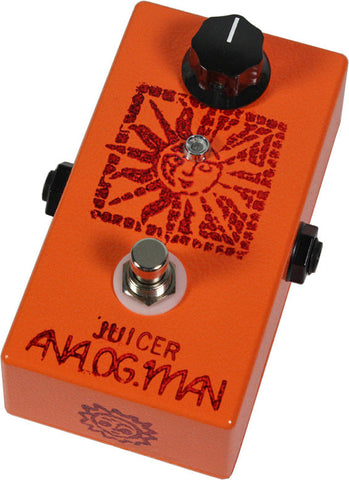 Analog Man Juicer Pedal w/ Power Jack - Humbucker Music