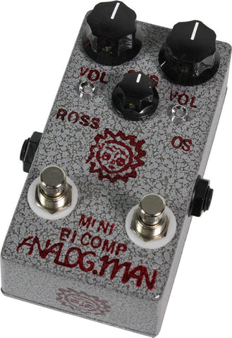 Analog Man Mini BiComp Compresson Pedal - Humbucker Music