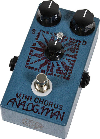 Analog Man Mini Chorus Pedal w/ Mix knob - Humbucker Music