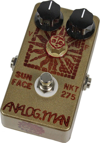 Analog Man SunFace Pedal w/ High Gain NKT-275 w/ Sundial - Humbucker Music