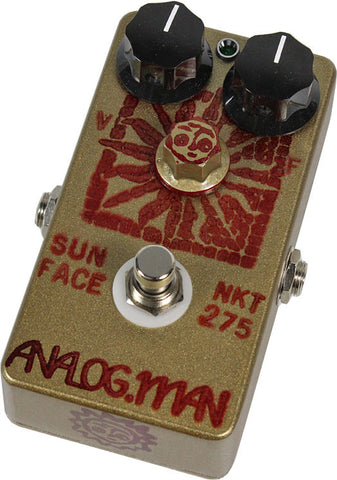 Analog Man SunFace Pedal w/ NKT-275 Sundial w/ Green LED - Humbucker Music
