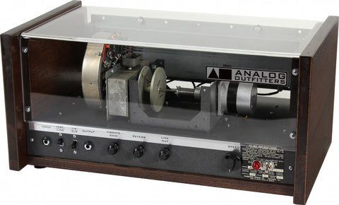 Analog Outfitters The Scanner Vibrator Reverb - Mahogany