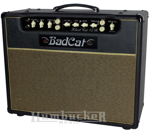 Bad Cat Black Cat 15R Reverb Combo Amp - Humbucker Music