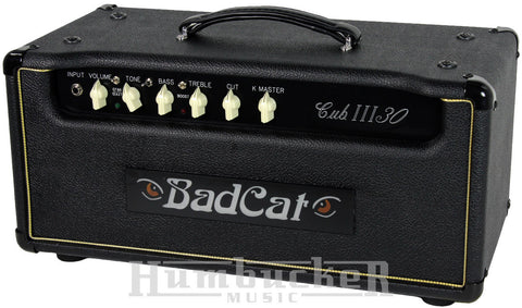 Bad Cat Cub III 30 Head - Humbucker Music