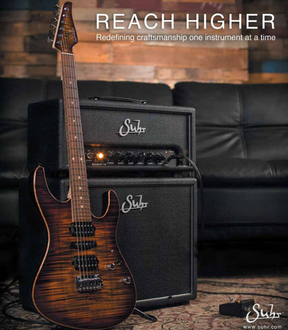 Suhr Badger 18 Head w/ 1x12 Cab - New Version