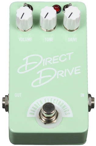 Barber Compact Direct Drive Pedal - Surf Green - Humbucker Music