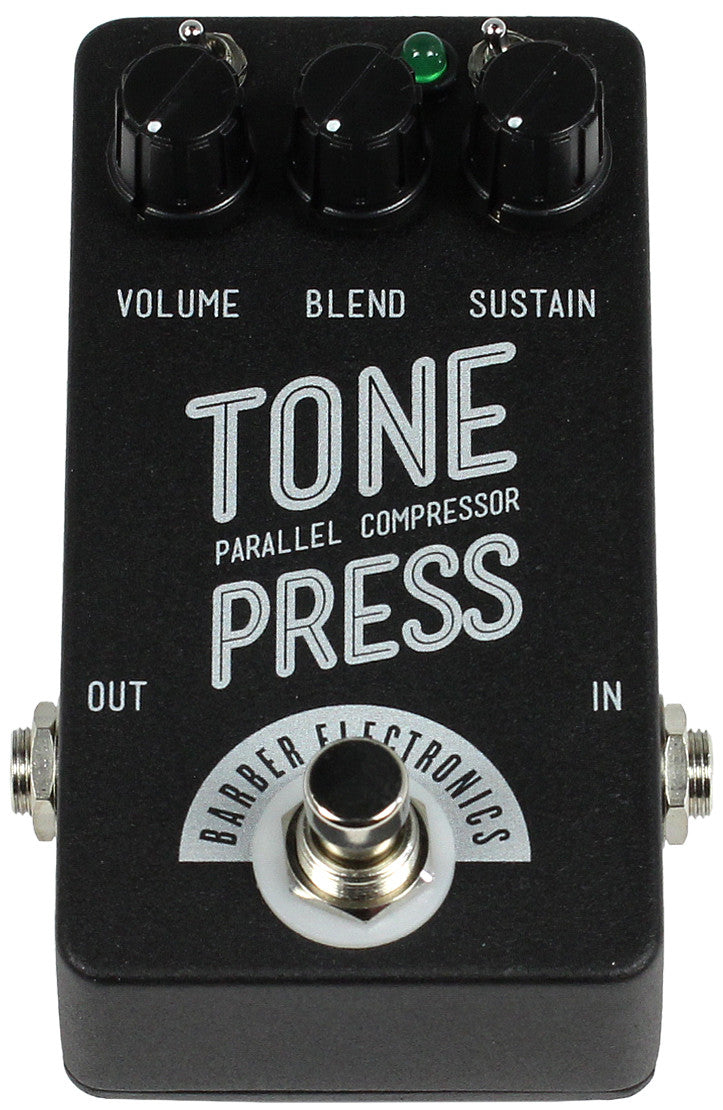 Barber Compact Tone Press Pedal Humbucker Music Problems Inside The Big Enclosure Using Through Hole Components