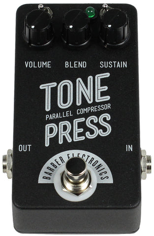Barber Compact Tone Press Pedal - Humbucker Music
