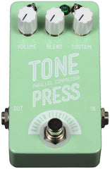 Barber Compact Tone Press Pedal - Surf Green